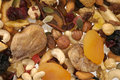 Nuts and Dried fruits collection Royalty Free Stock Photography
