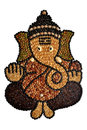 Nuts lord ganesha with isolated background Royalty Free Stock Photography