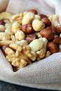 Nuts mix Stock Photo