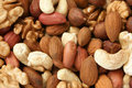 Nuts mixed Royalty Free Stock Photo