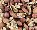 Nuts mixed Royalty Free Stock Photo