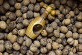 Nuts with nutcracker organic walnuts wooden Royalty Free Stock Images