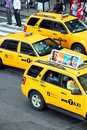 NY Cabs Royalty Free Stock Photos