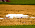 NY Mets third base. Royalty Free Stock Photo