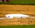 NY Mets third base. Royalty Free Stock Photo