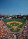 NY Mets vs. the San Francisco Giants Royalty Free Stock Photo