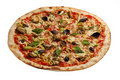 Ny pizza Royaltyfria Bilder