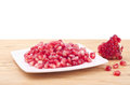 Ny pomegranate Royaltyfria Bilder