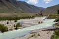 Nyang river the of nyingchi tibet chia Stock Photo