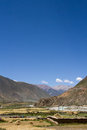 Nyang river the of nyingchi tibet chia Royalty Free Stock Photo