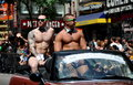 NYC: 2012 Gay Pride Parade Stock Photos