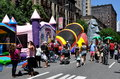 NYC: Amsterdam Ave. Street Festival Stock Photo