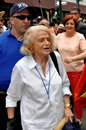 Nyc edie windsor and christine quinn at gay pride parade grand marshall the woman who sued the u s government to nullify doma the Stock Images