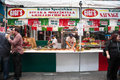 Nyc feast of san gennaro new york city sept food vendor at th in on sept the celebrates italian heritage and the patron Royalty Free Stock Image