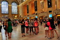 NYC:  The Great Hall at Grand Central Terminal Royalty Free Stock Photo