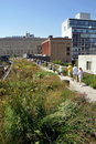 NYC:  The High Line Park Royalty Free Stock Image