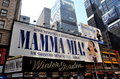 NYC: Mamma Mia Musical at Winter Garden Theatre Royalty Free Stock Photo