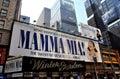 NYC: Mamma Mia Musical at Winter Garden Theatre Royalty Free Stock Photo