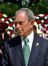 NYC: Mayor Michael Bloomberg Royalty Free Stock Photo