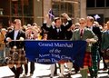 NYC: Scottish Tartan Day Parade Royalty Free Stock Photos