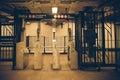NYC Subway car Royalty Free Stock Photo