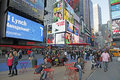 NYC TIMES SQUARE Royalty Free Stock Photography
