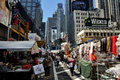 NYC: Times Square & Street Festival Stock Photography