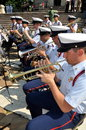 NYC: U.S . Coast Guard Band Royalty Free Stock Image