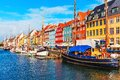 Nyhavn, Copenhagen, Denmark Royalty Free Stock Photo