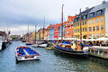 Nyhavn (New Harbor), Copenhagen Stock Images