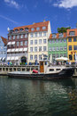 Nyhavn port in Copenhagen Royalty Free Stock Image