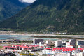 Nyingchi city the new of bayi country tibet china Stock Photography