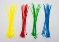 Nylon cable ties Royalty Free Stock Photo