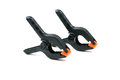 Nylon spring clamps pair of generic Royalty Free Stock Image