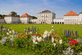 Nymphenburg palace in munich located bavaria germany Royalty Free Stock Photography