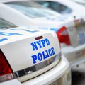 NYPD police cars Royalty Free Stock Photo