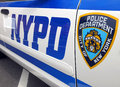 NYPD police cruiser Royalty Free Stock Photo