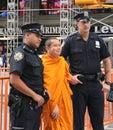 NYPD Policemen Royalty Free Stock Photo