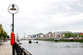 O'Casey Bridge, Dublin, Ireland Royalty Free Stock Photo
