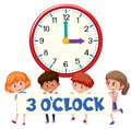 3 o`clock and students