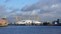The O2 from Greenwich near London Royalty Free Stock Photo