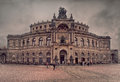 O Semperoper Foto de Stock Royalty Free