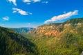Oak Canyon, New Mexico Royalty Free Stock Photo