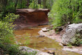 Oak Creek Canyon Stock Image