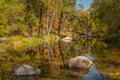 Oak Creek In Fall