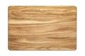 Oak tree cutting board Royalty Free Stock Photo