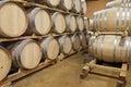 Oak Wine Barrels, Baja, Mexico Royalty Free Stock Photo