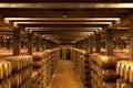 Oak Wine Barrels, La Rioja Royalty Free Stock Photo