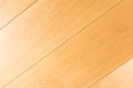 Oak wood floor parquet detail - lay flooring, diagonal Royalty Free Stock Photo