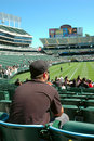 Oakland Coliseum Royalty Free Stock Images